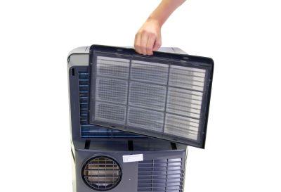 Filtre d'un climatiseur mobile