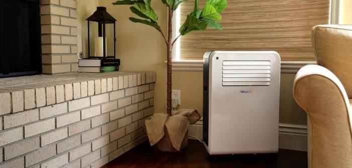 Climatisation mobile dans le salon
